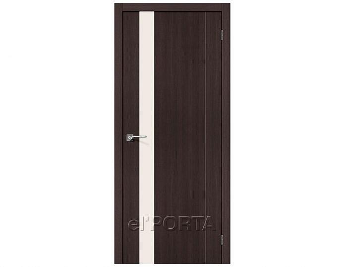 Межкомнатная дверь ПОРТА-11 Wenge Veralinga
