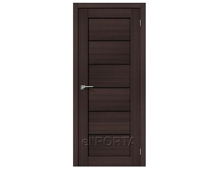 Межкомнатная дверь ПОРТА-22 BS Wenge Veralinga