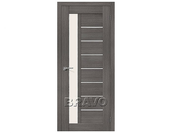 Межкомнатная дверь ПОРТА-27 Grey Veralinga