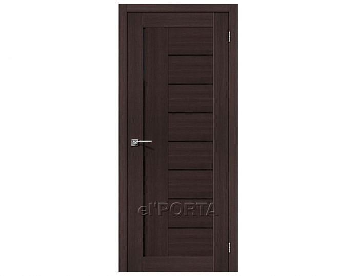 Межкомнатная дверь ПОРТА-29 BS Wenge Veralinga