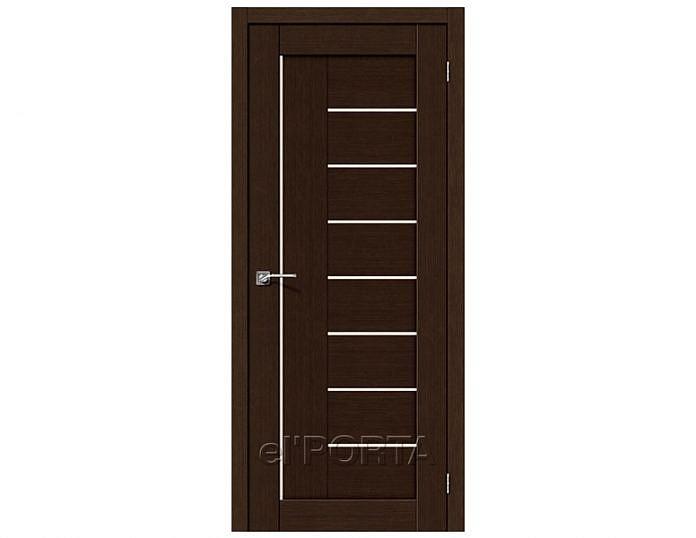 Межкомнатная дверь ПОРТА-29 Wenge Veralinga