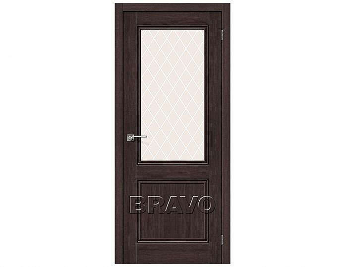 Межкомнатная дверь ПОРТА-63 Wenge Veralinga