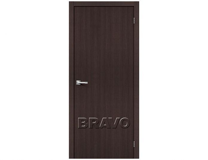 Межкомнатная дверь ТРЕНД-0 Wenge Veralinga