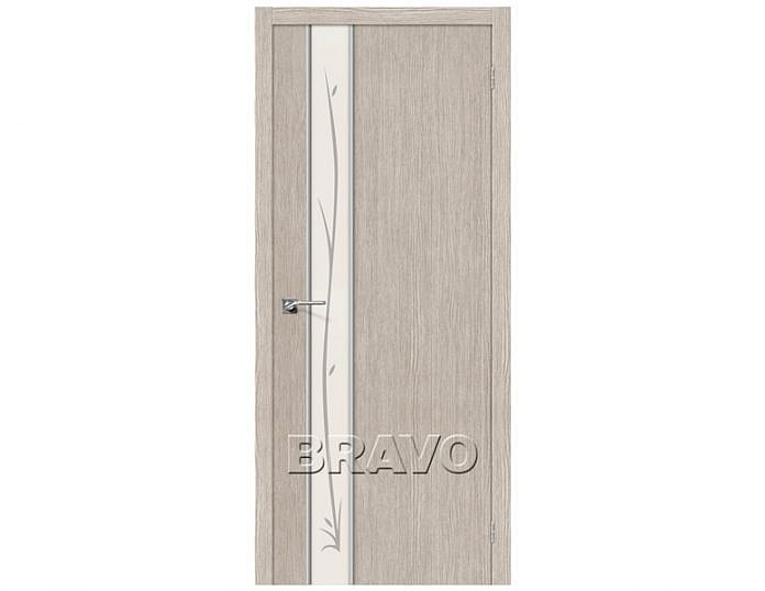 Межкомнатная дверь ГЛЕЙС-1 TWIG Cappuccino