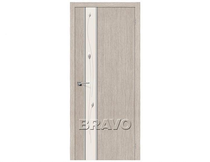 Межкомнатная дверь Модель ГЛЕЙС-1 SPRIG Cappuccino