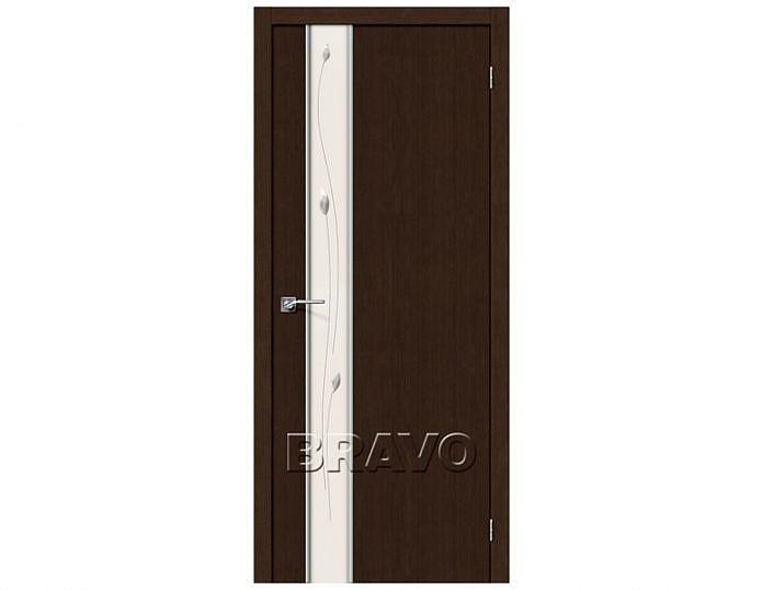 Межкомнатная дверь Модель ГЛЕЙС-1 SPRIG Wenge