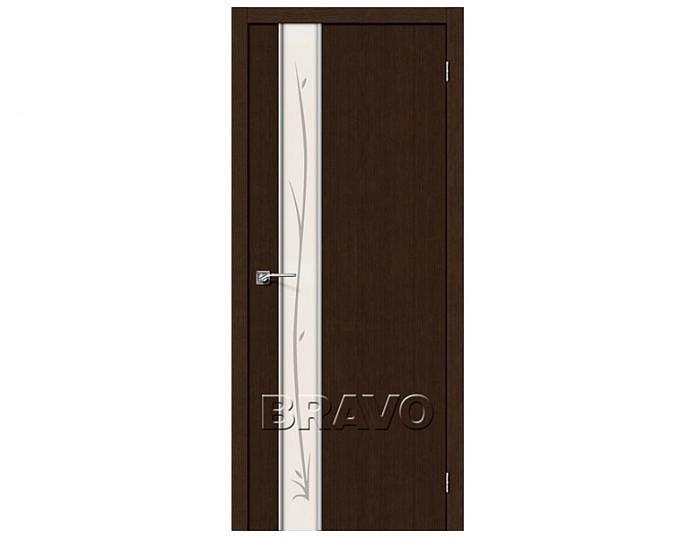 Межкомнатная дверь ГЛЕЙС-1 TWIG Wenge