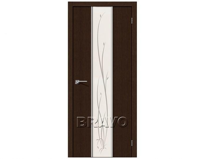 Межкомнатная дверь ГЛЕЙС-2 TWIG Wenge