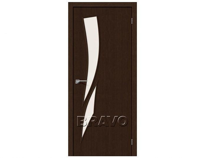 Межкомнатная дверь МАСТЕР-10 Magic Fog Wenge