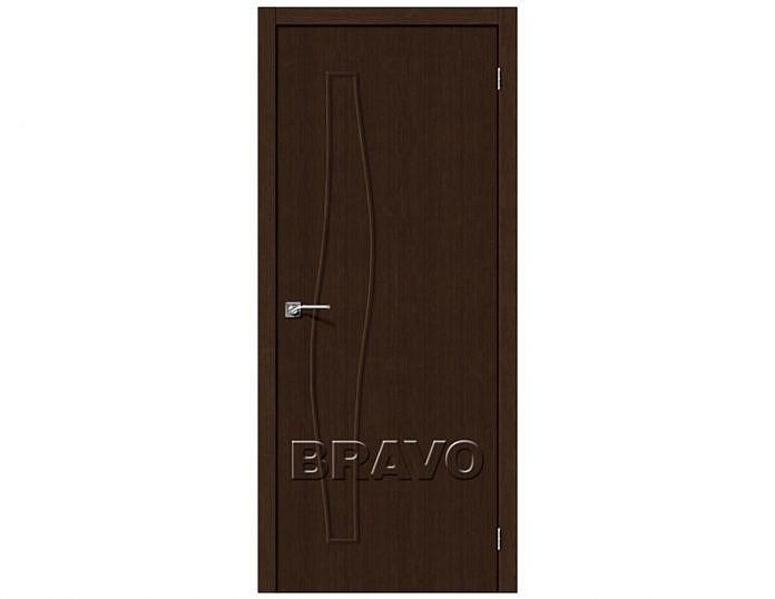 Межкомнатная дверь МАСТЕР-7 3D Wenge