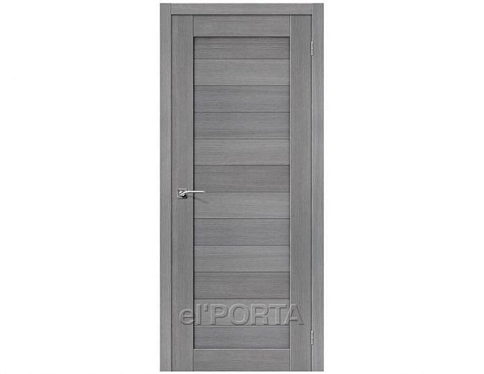 Межкомнатная дверь Порта-21 3D Grey