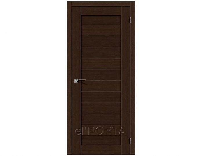 Межкомнатная дверь Порта-21 3D Wenge