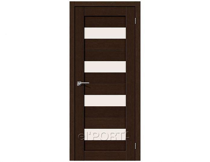 Межкомнатная дверь ПОРТА-23 3D Wenge