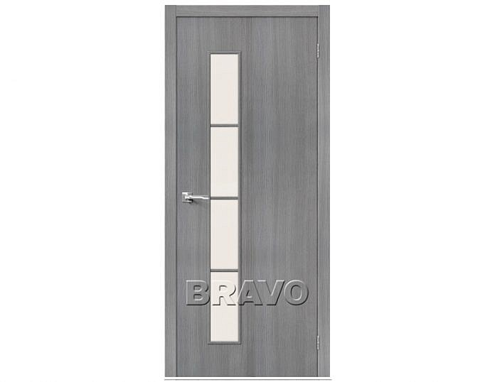 Межкомнатная дверь ТРЕНД-4 3D Magic Fog Grey