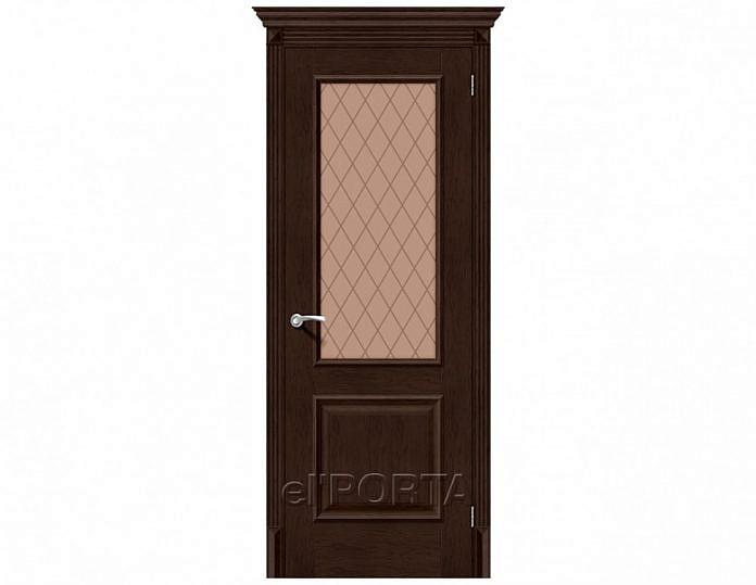Межкомнатная дверь КЛАССИКО-13 NEW Bronze Сrystal