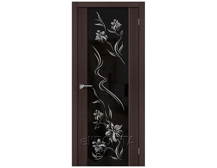Межкомнатная дверь S-13 Print Wenge Veralinga