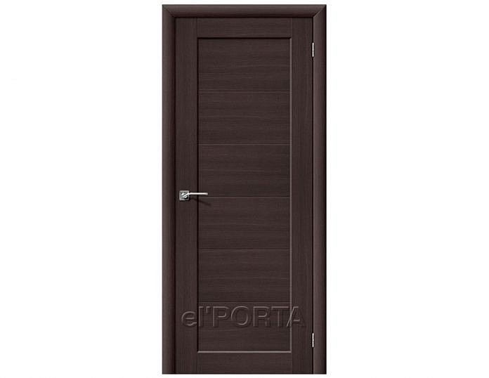 Межкомнатная дверь Аква-1 Wenge Veralinga