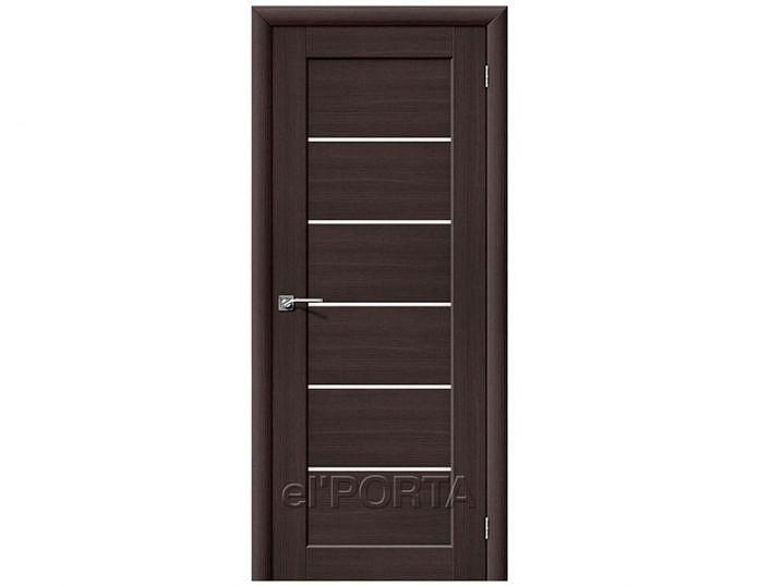 Межкомнатная дверь Аква-2 Wenge Veralinga