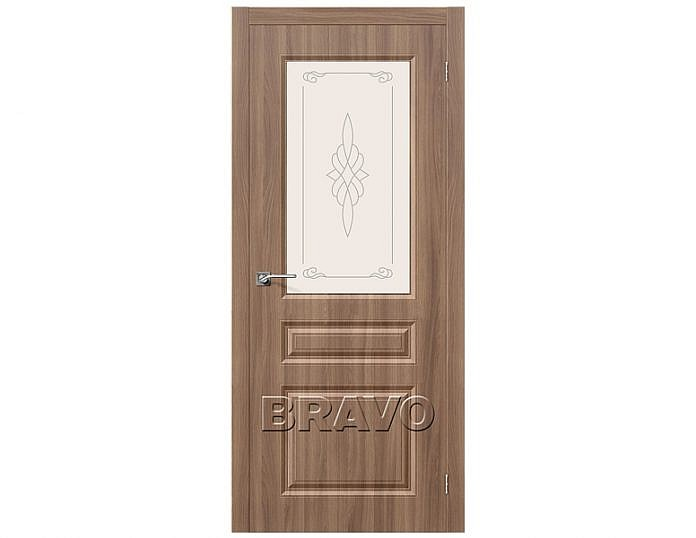 Межкомнатная дверь Статус-15 Шимо Темный