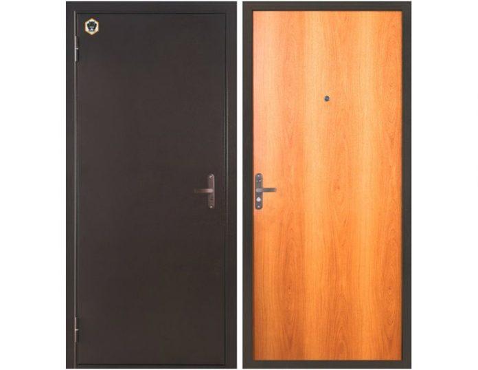 Входная дверь Бульдорс-10 Миланский орех