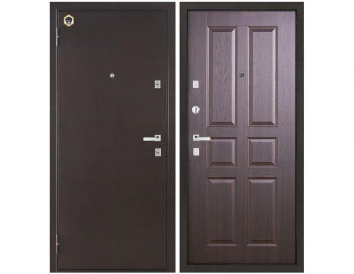 Входная дверь Бульдорс-12 C-2 Венге