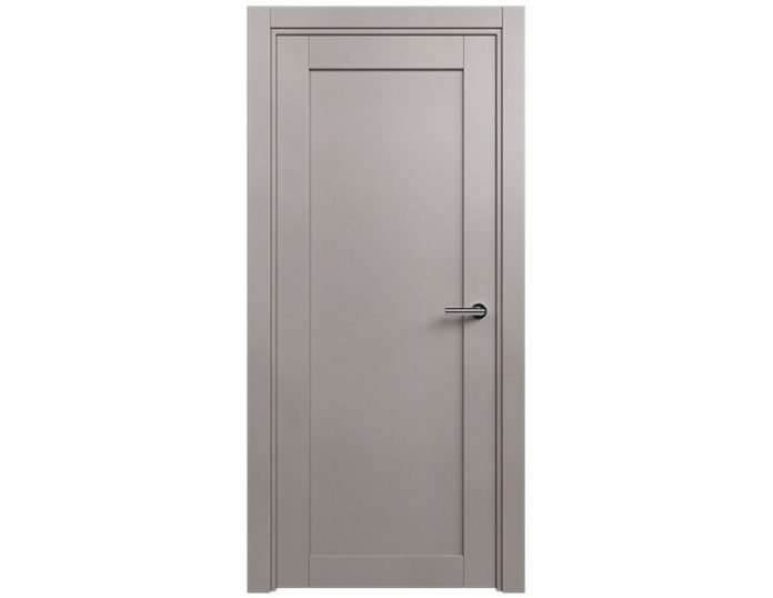 Межкомнатная дверь Status Optima 111 цвет Grey