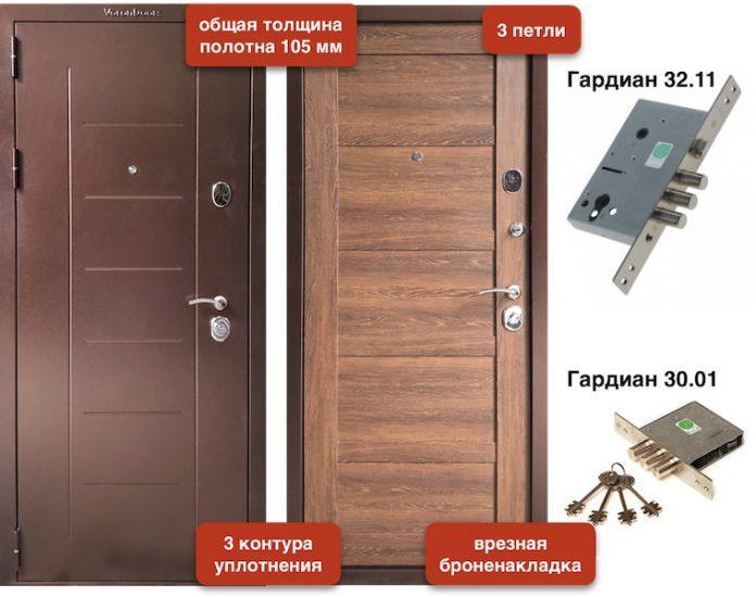 Входная дверь VD-102