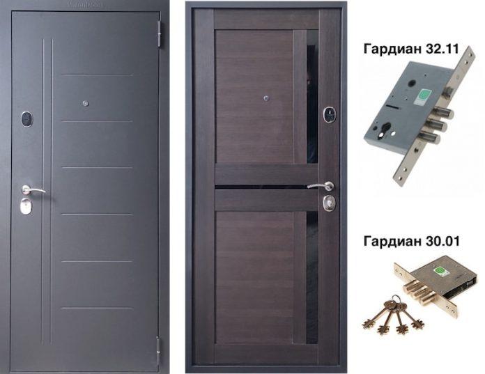 Входная дверь VD-42 Венге