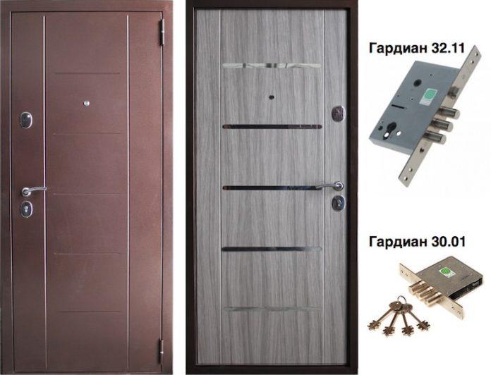 Входная дверь VD-43 Палисандр темный