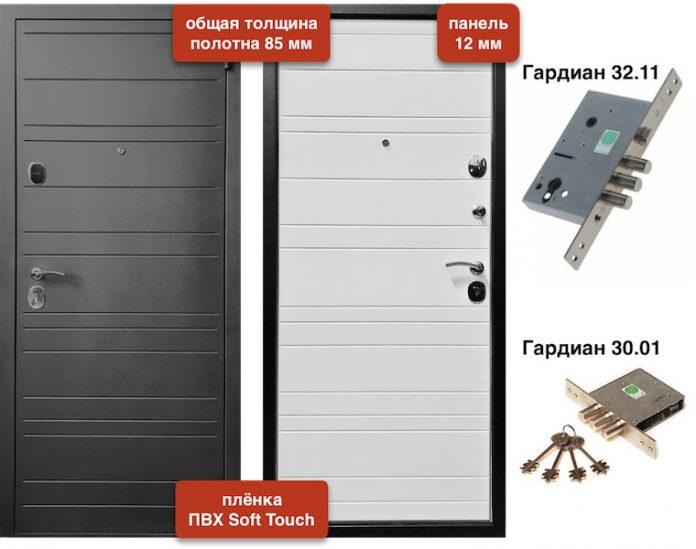Входная дверь VD-81 Soft