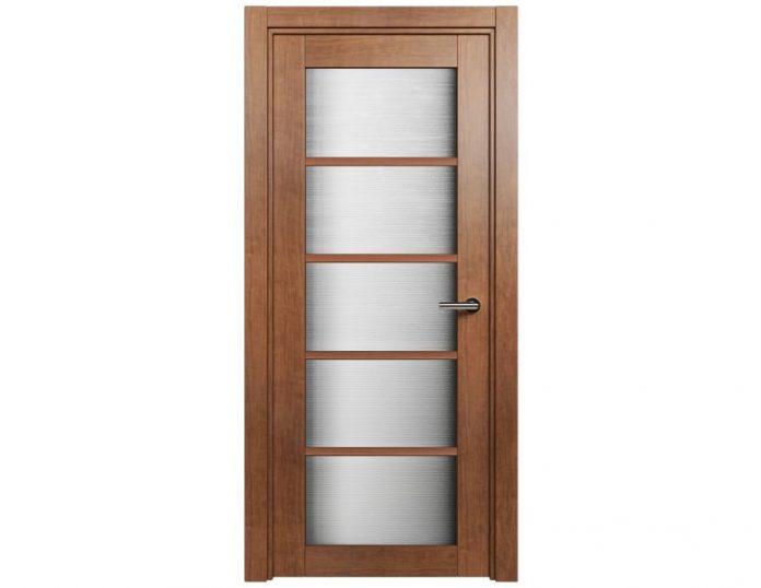 Межкомнатная дверь Status Optima 122 цвет Анегри