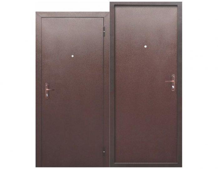 Входная дверь СТРОЙГОСТ 5 РФ Металл/Металл 45 мм