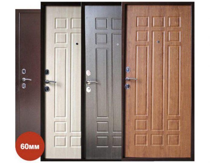 Входная дверь Спарта 6 60 мм