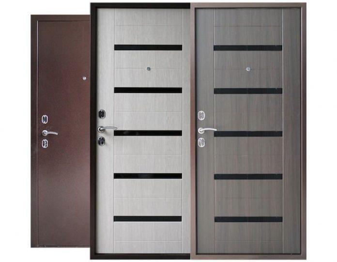 Входная дверь Спарта Лакобель 60 мм