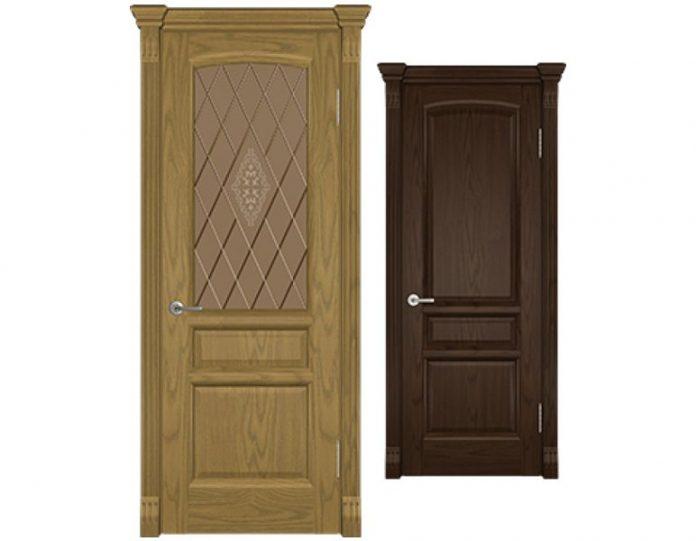 Межкомнатная дверь ВОЛГА МОДЕЛЬ Надежда Квадро