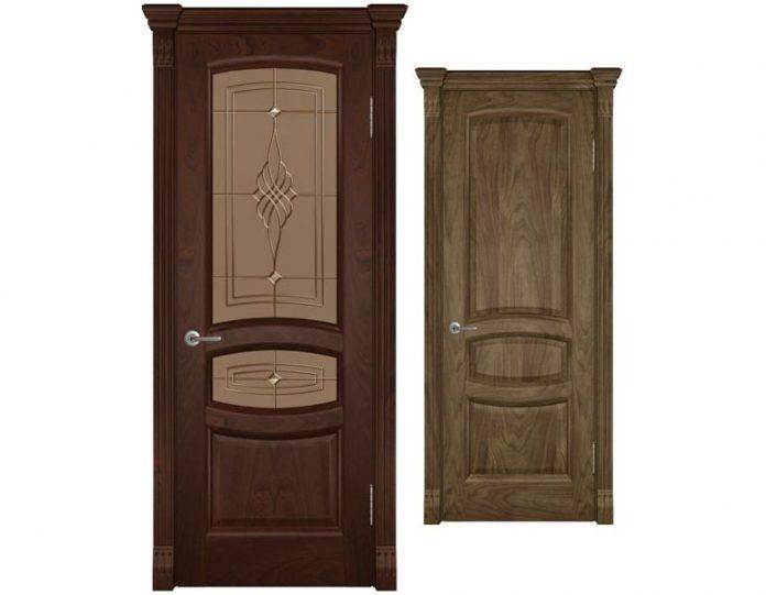 Межкомнатная дверь ВОЛГА МОДЕЛЬ Надежда Раунд