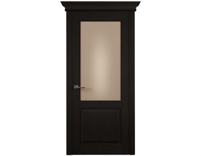 Межкомнатная дверь CLASSIC МОДЕЛЬ 521 цвет Дуб черный
