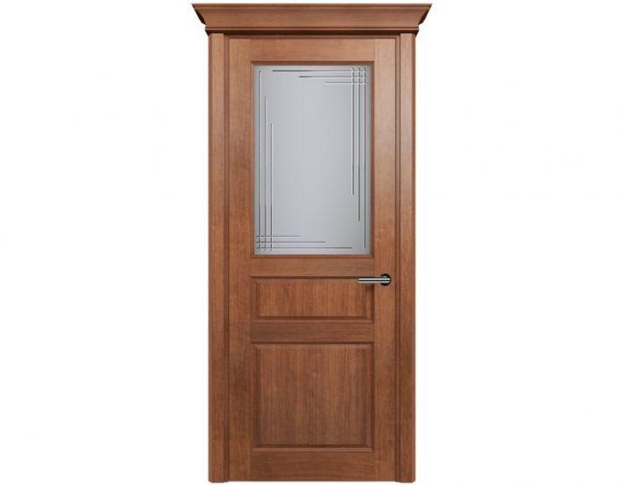 Межкомнатная дверь CLASSIC МОДЕЛЬ 532 цвет Анегри