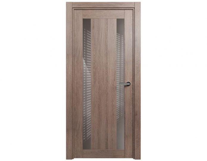 Межкомнатная дверь ESTETICA МОДЕЛЬ 822 цвет Дуб капучино