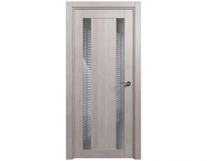 Межкомнатная дверь ESTETICA МОДЕЛЬ 822 цвет Дуб серый