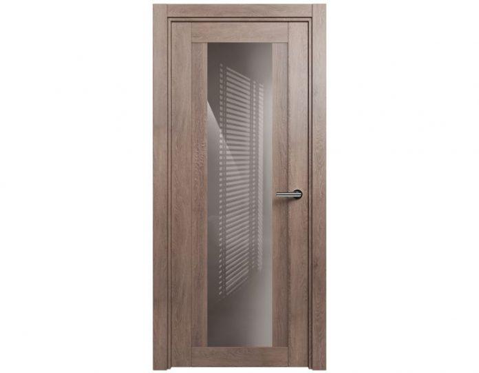 Межкомнатная дверь ESTETICA МОДЕЛЬ 823 Дуб капучино