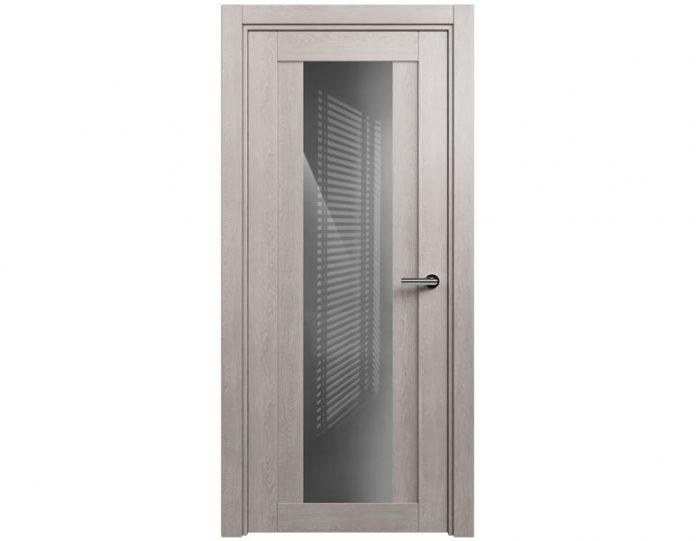 Межкомнатная дверь ESTETICA МОДЕЛЬ 823 цвет Дуб серый
