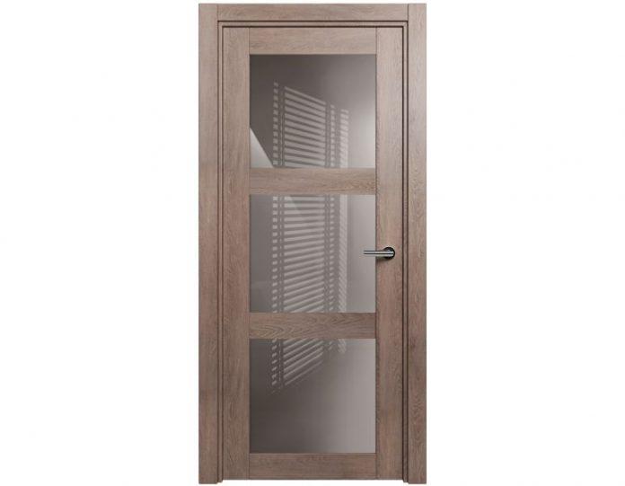 Межкомнатная дверь ESTETICA МОДЕЛЬ 833 Дуб капучино