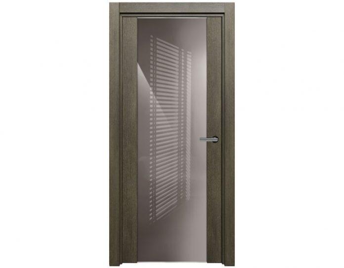 Межкомнатная дверь TREND МОДЕЛЬ 423 цвет Дуб патина
