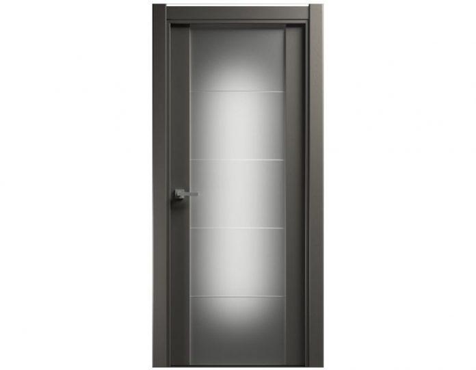 Межкомнатная дверь VERSIA МОДЕЛЬ 222 Grey
