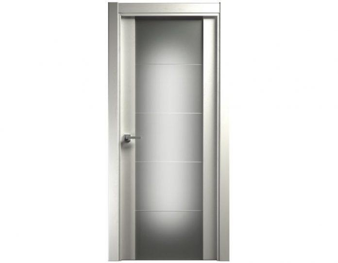 Межкомнатная дверь VERSIA МОДЕЛЬ 222 цвет Дуб белый