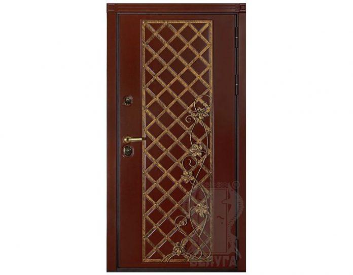 Входная металлическая дверь Белуга МОДЕЛЬ «Град»