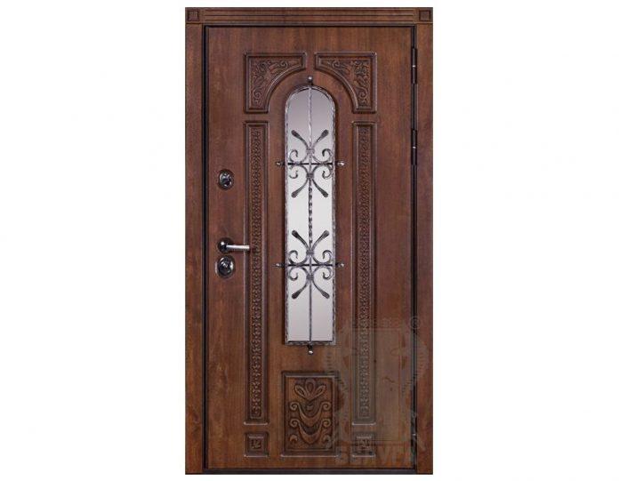 Входная металлическая дверь Белуга МОДЕЛЬ «Лацио»