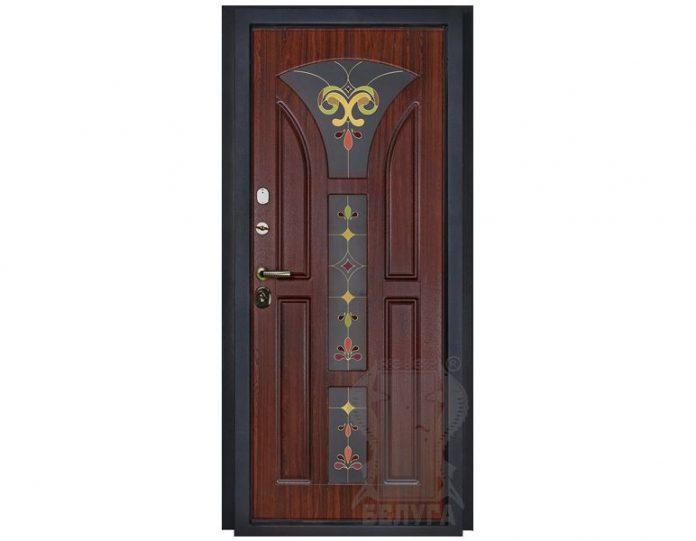 Входная металлическая дверь Белуга МОДЕЛЬ «Лотос»