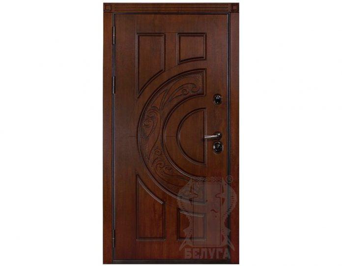 Входная металлическая дверь Белуга МОДЕЛЬ «Милано»